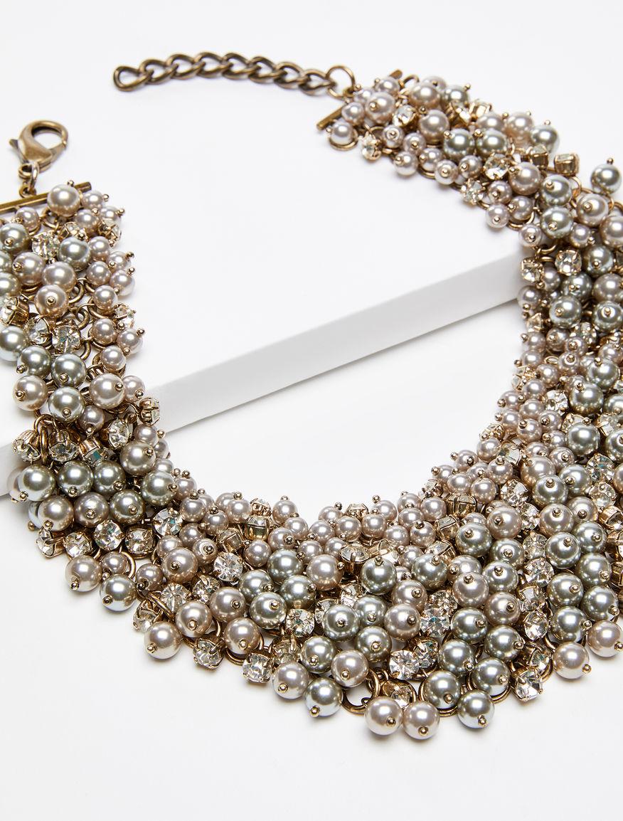 Collana in perle e strass Weekend Maxmara
