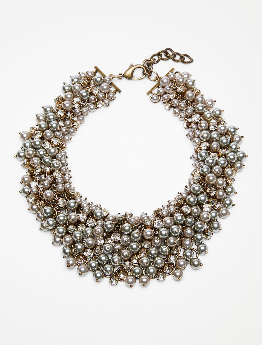 Collana in perle e strass Weekend Maxmara