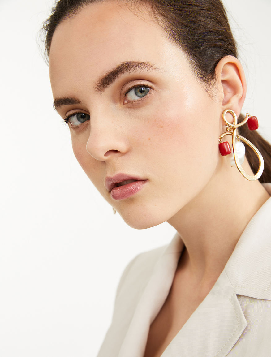 Earrings with resin pendant Weekend Maxmara