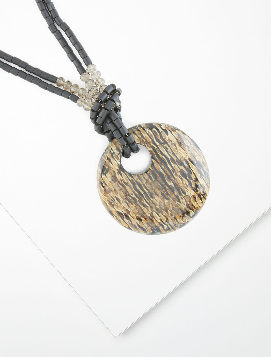 Resin pendant necklace Weekend Maxmara