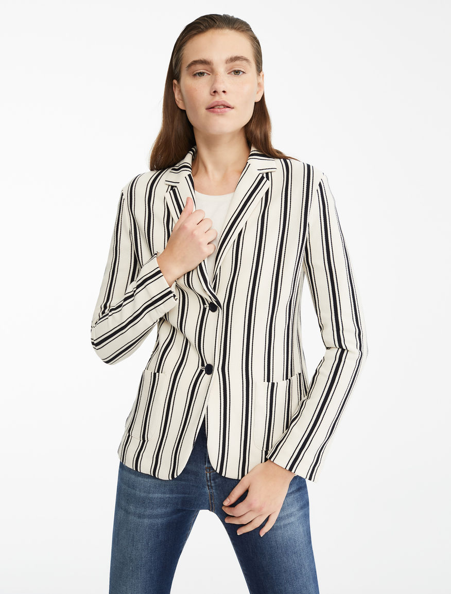 Blazer in jersey piquet Weekend Maxmara