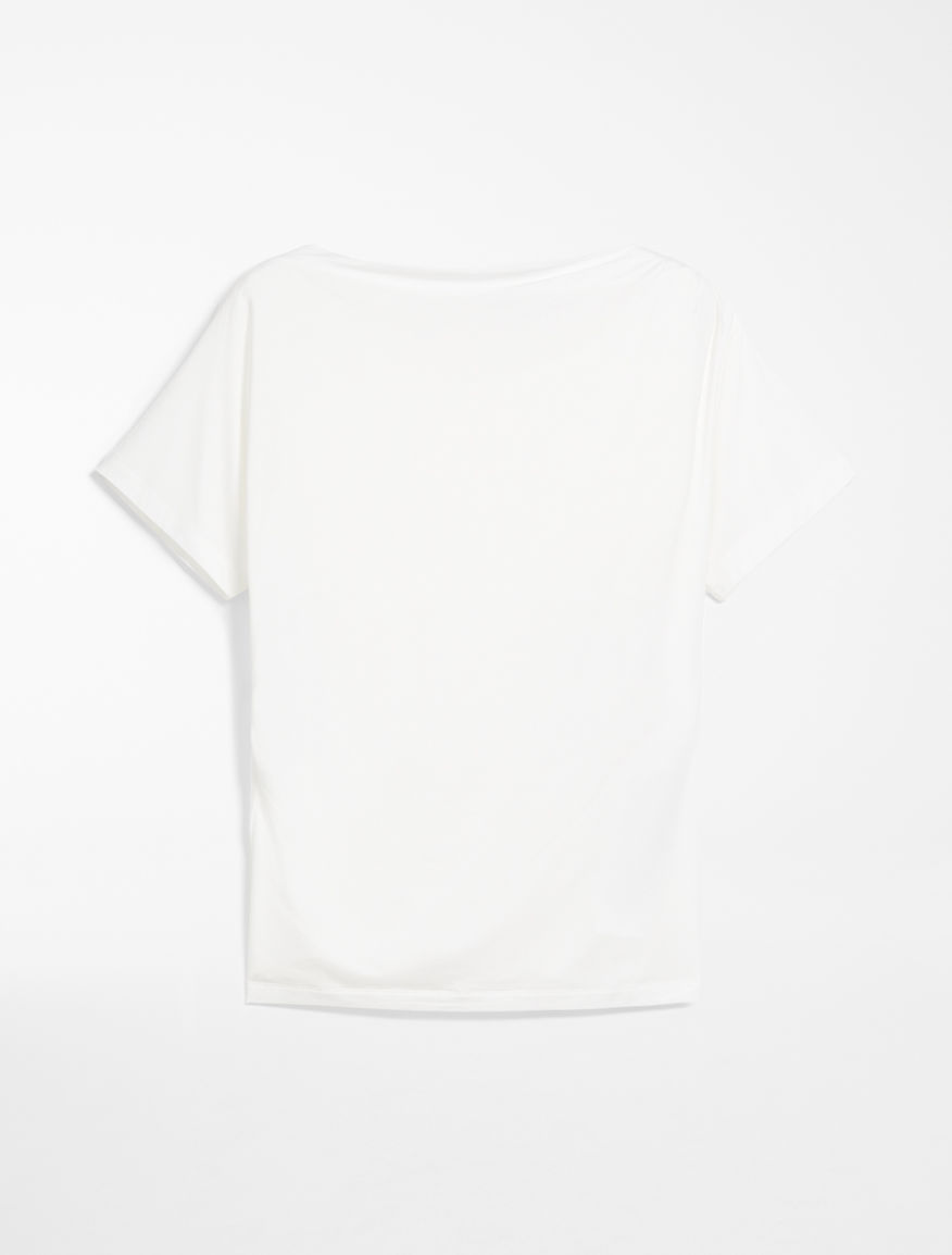 Cotton jersey top Weekend Maxmara