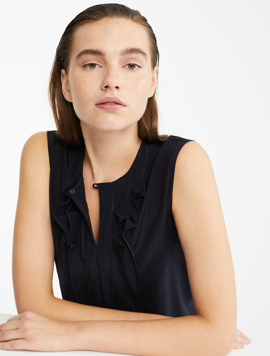 Silk and jersey top Weekend Maxmara