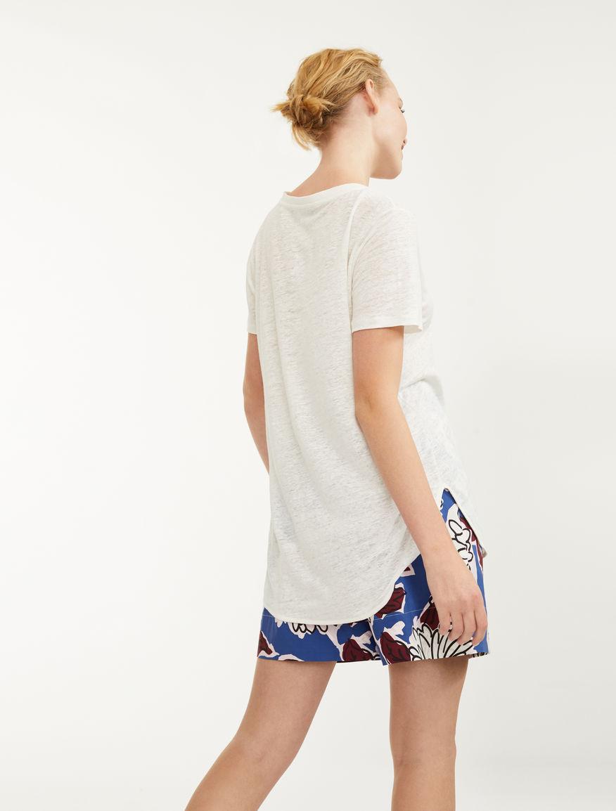 T-shirt in jersey di lino Weekend Maxmara