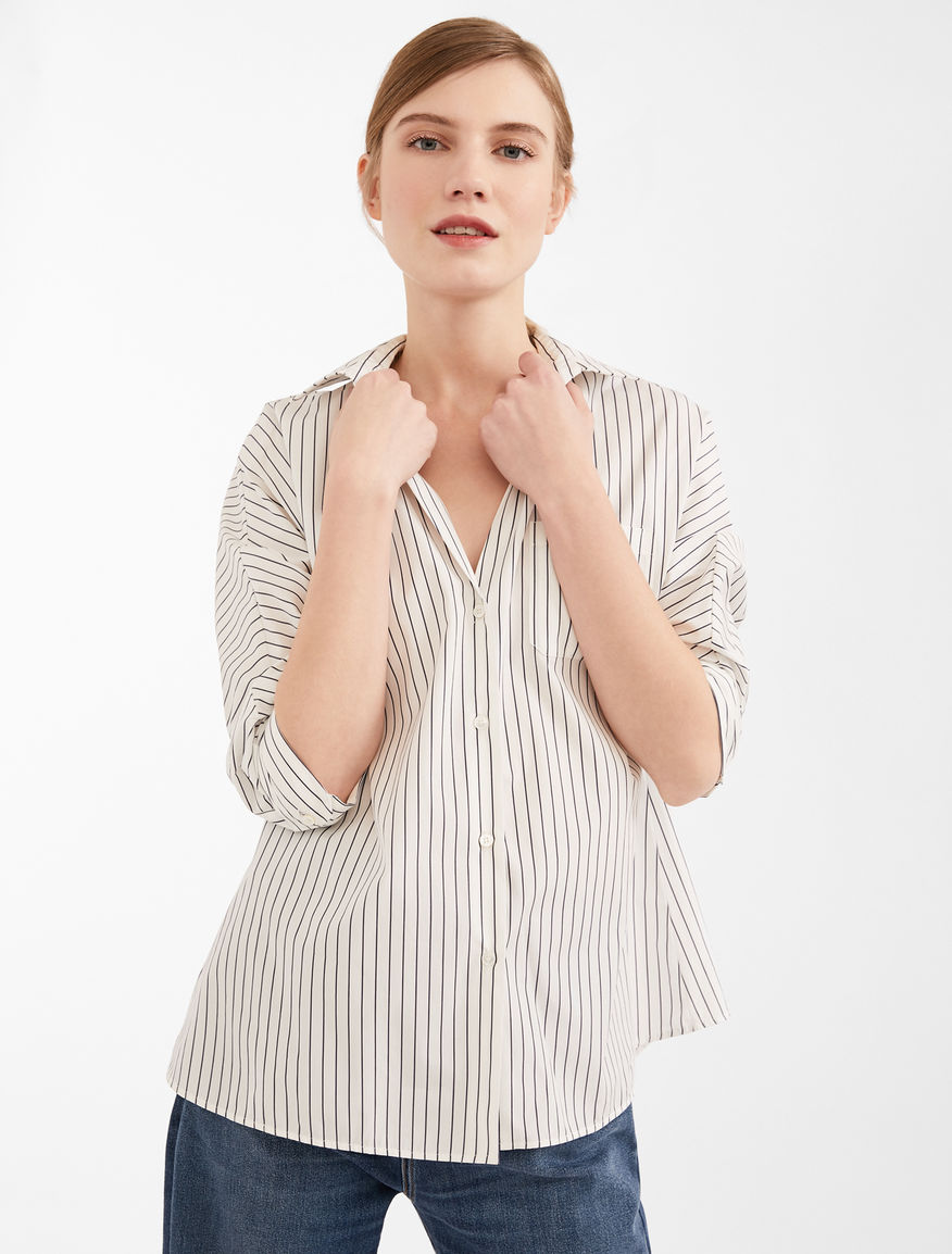 Camicia in popeline di cotone Weekend Maxmara