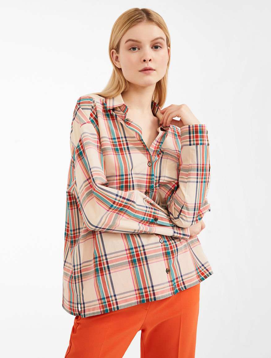 Camicia in tela di cotone Weekend Maxmara