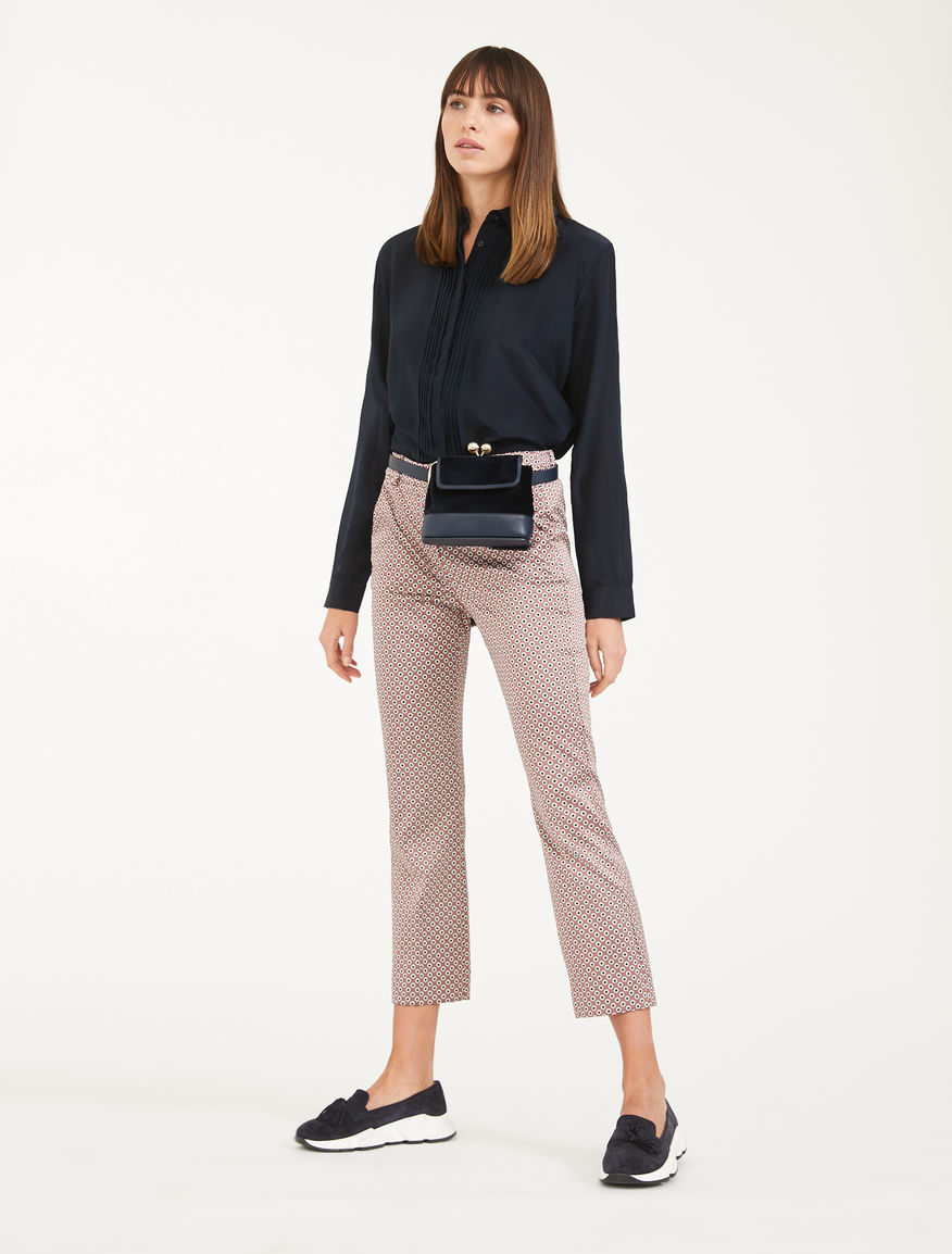 Jacquard trousers Weekend Maxmara