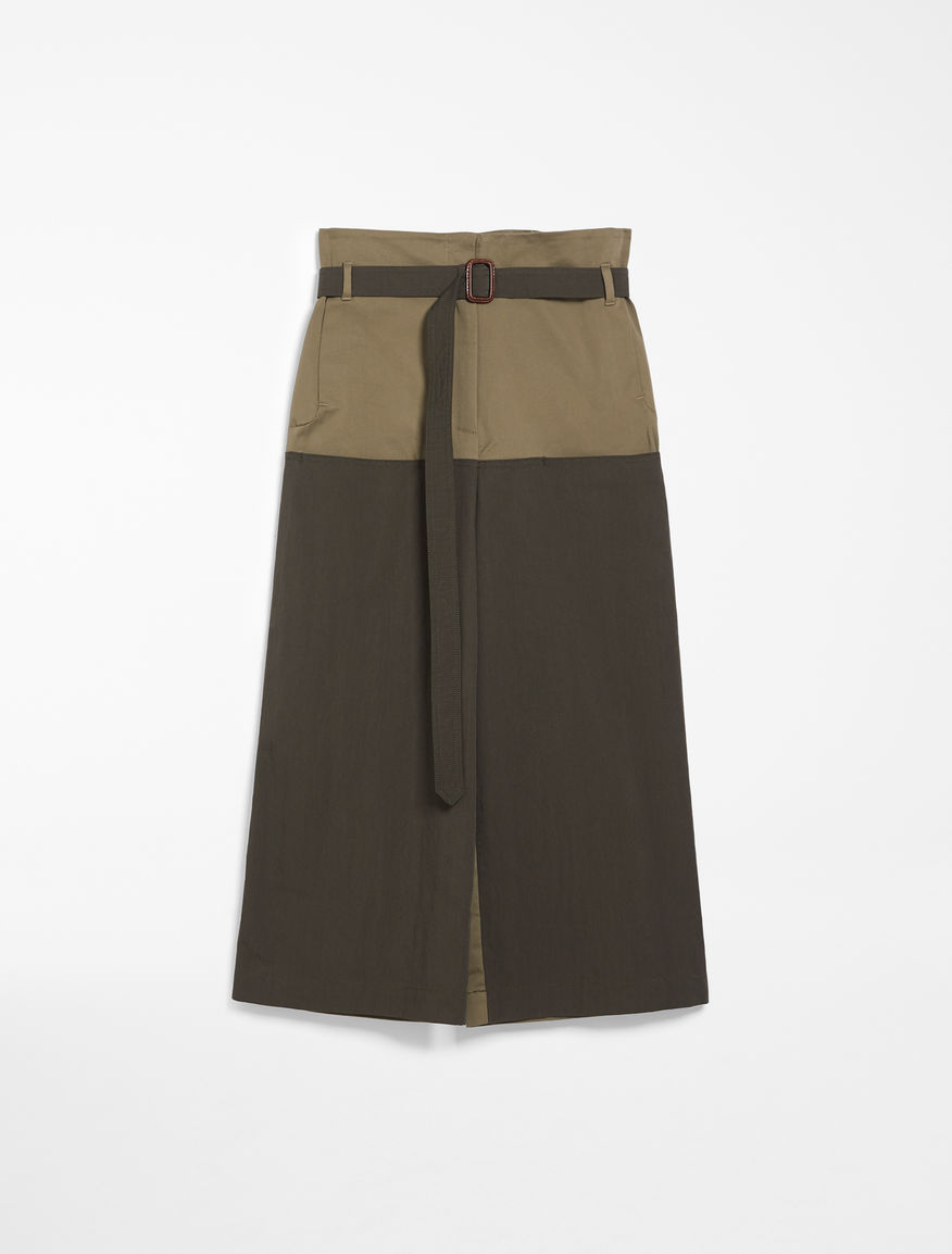 Cotton canvas trousers Weekend Maxmara