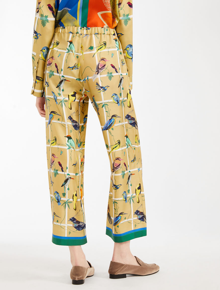 Silk twill trousers Weekend Maxmara