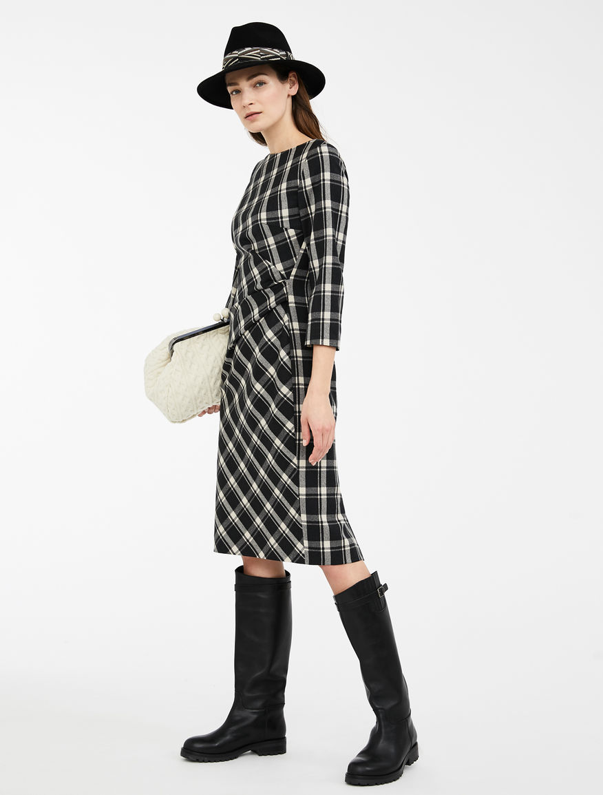 Wool flannel dress Weekend Maxmara