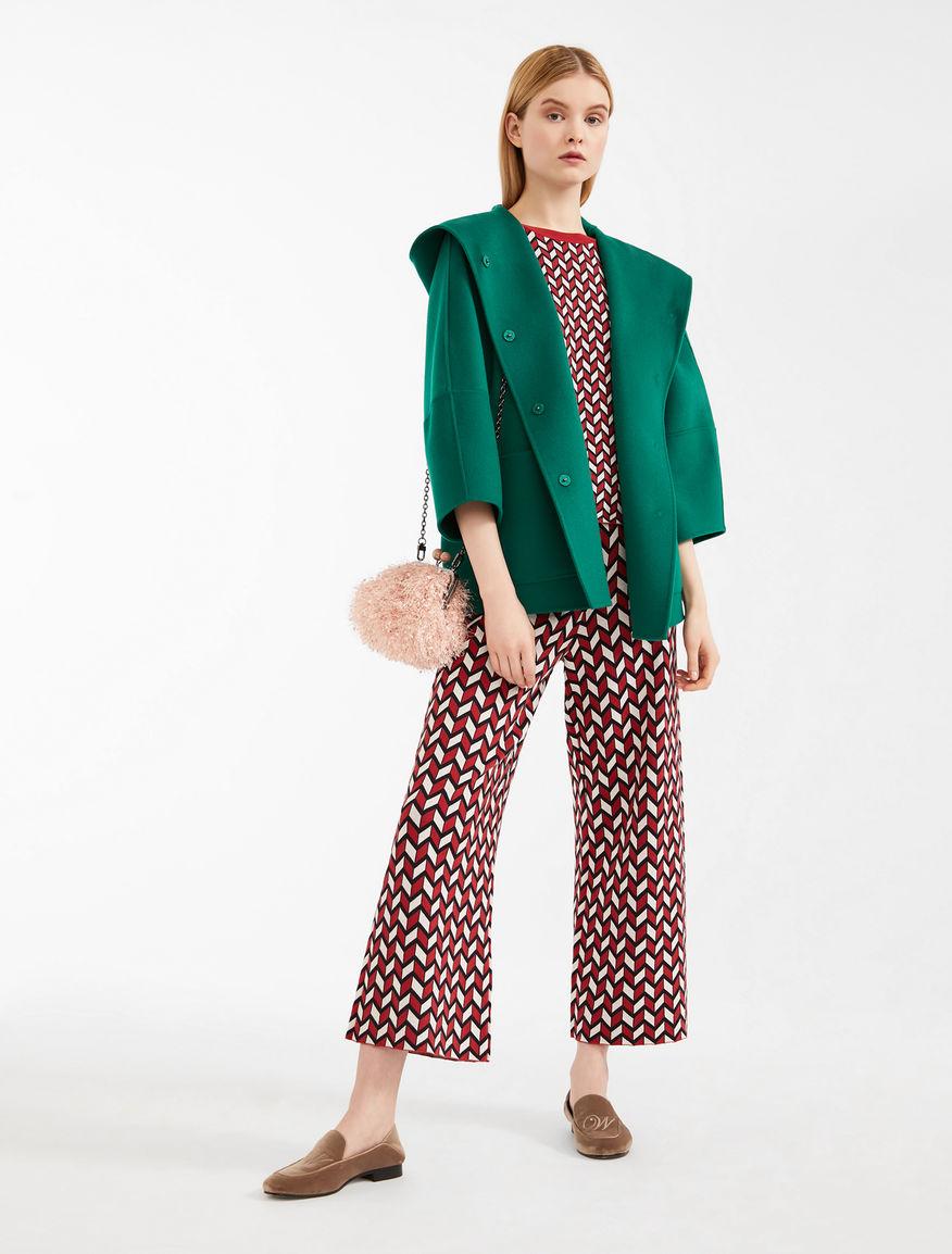 Trousers in jacquard yarn Weekend Maxmara