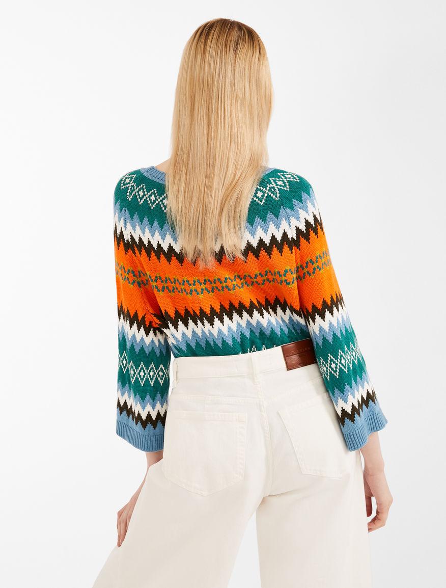 Jumper in jacquard yarn Weekend Maxmara