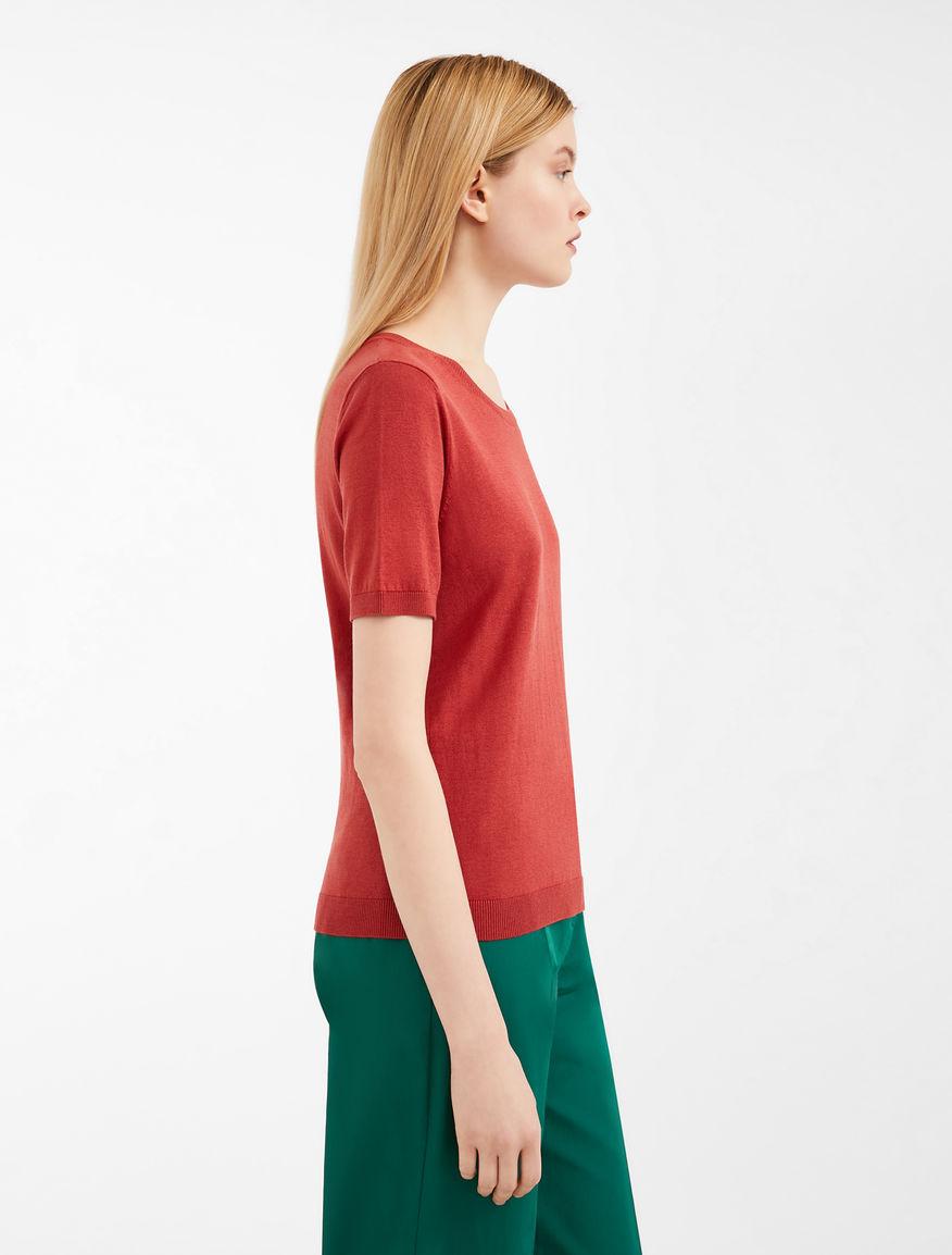Cotton and silk yarn jumper Weekend Maxmara