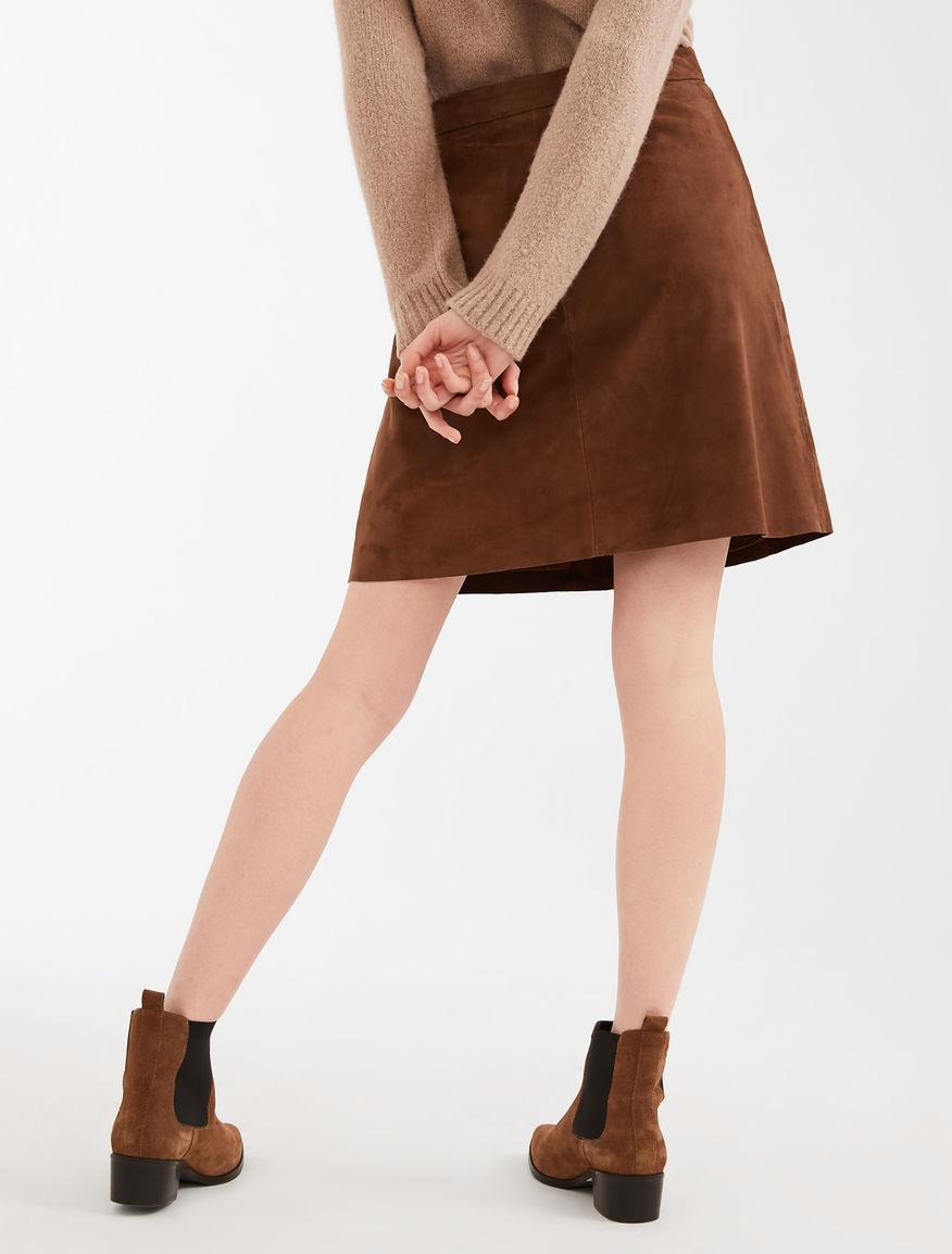 Suede skirt Weekend Maxmara