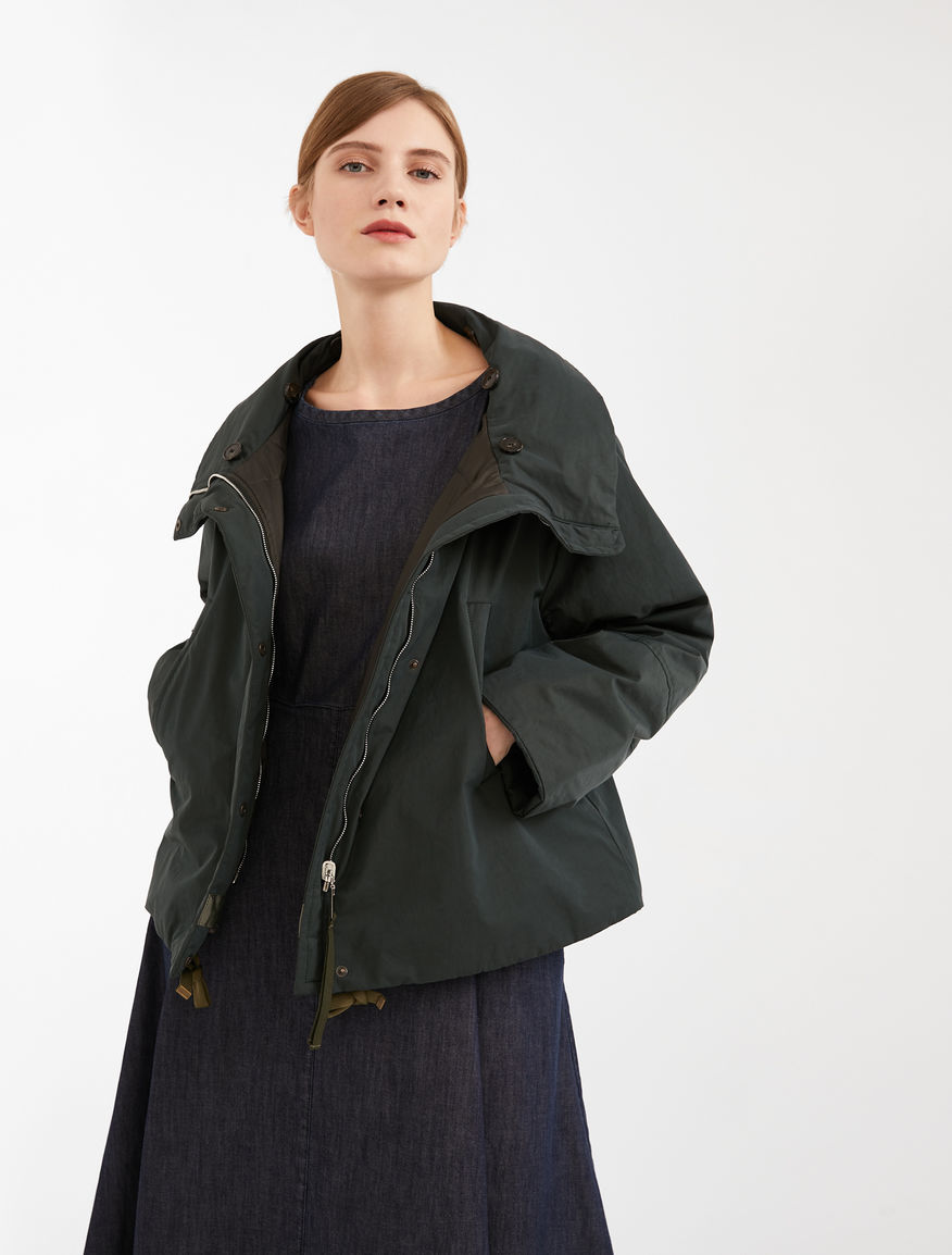 Reversible jacket in cotton gabardine Weekend Maxmara