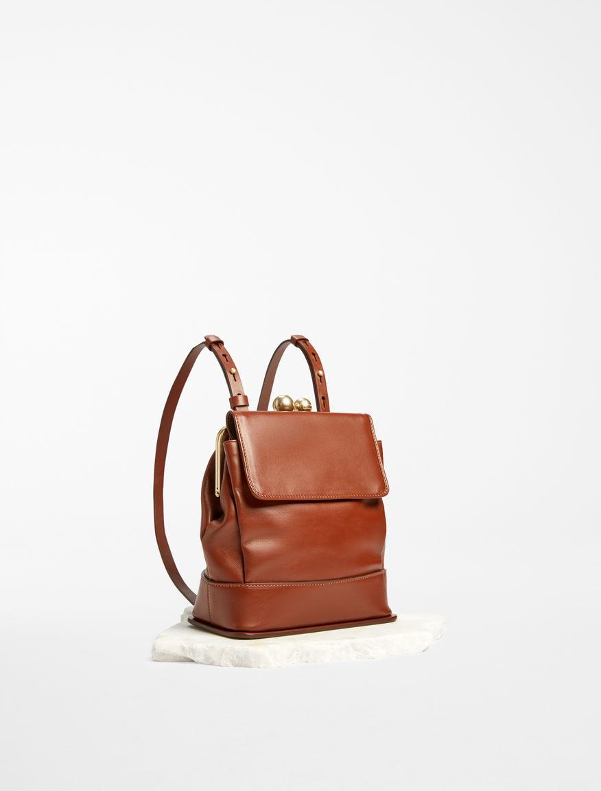 Leather rucksack Weekend Maxmara