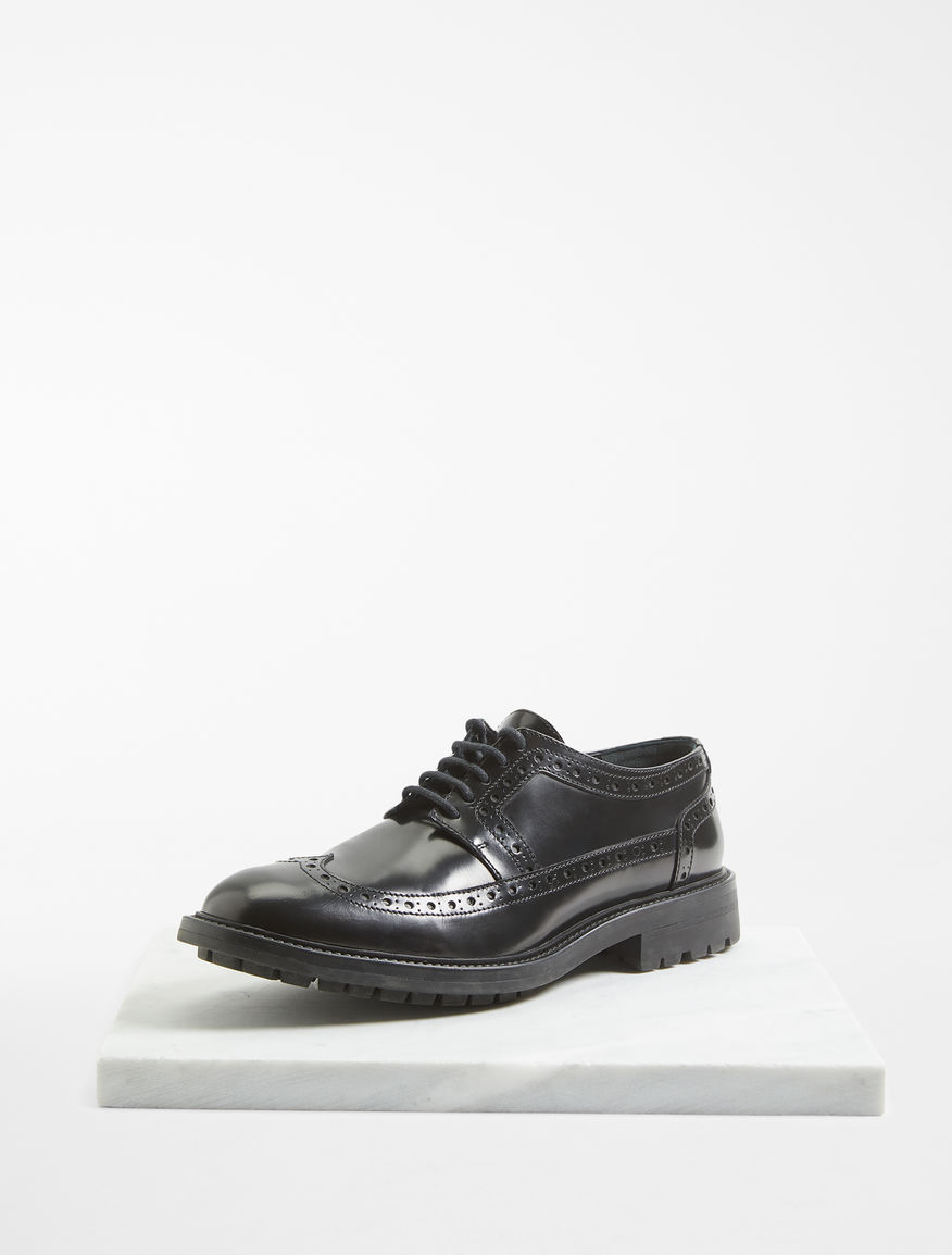 Leather lace-up shoes Weekend Maxmara