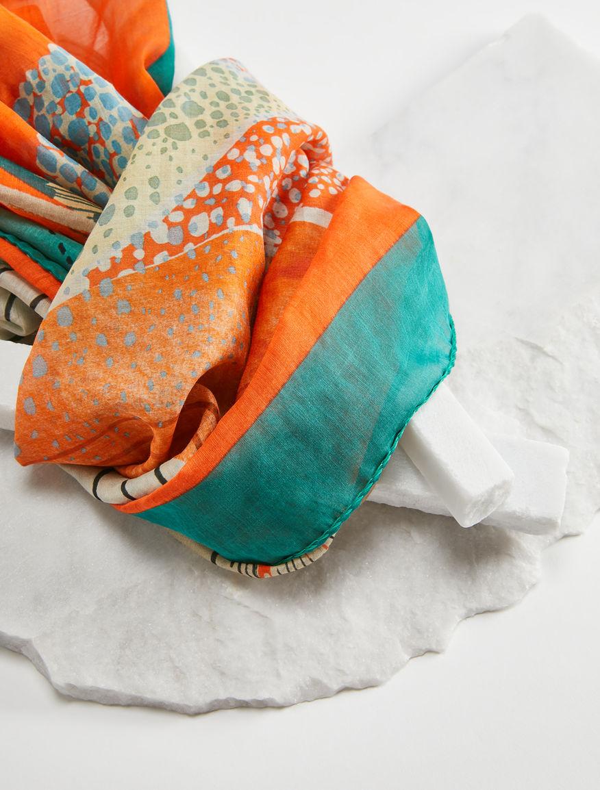 Silk and cotton shawl Weekend Maxmara