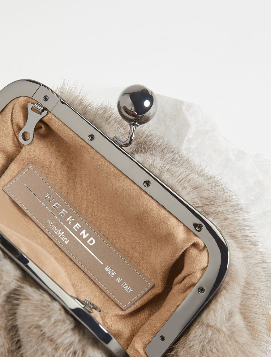 Mini mink Pasticcino Bag Weekend Maxmara