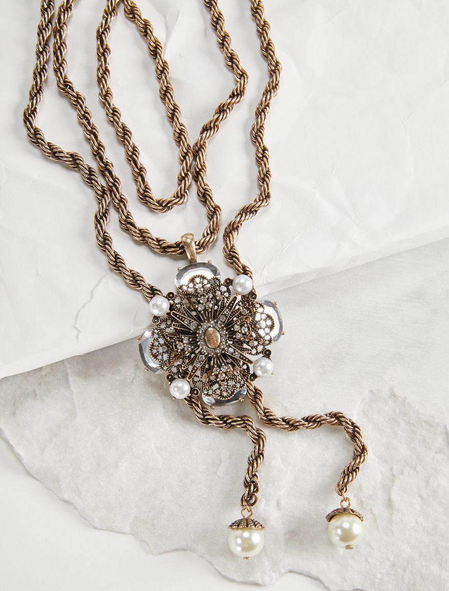 Jewelled chain necklace Weekend Maxmara