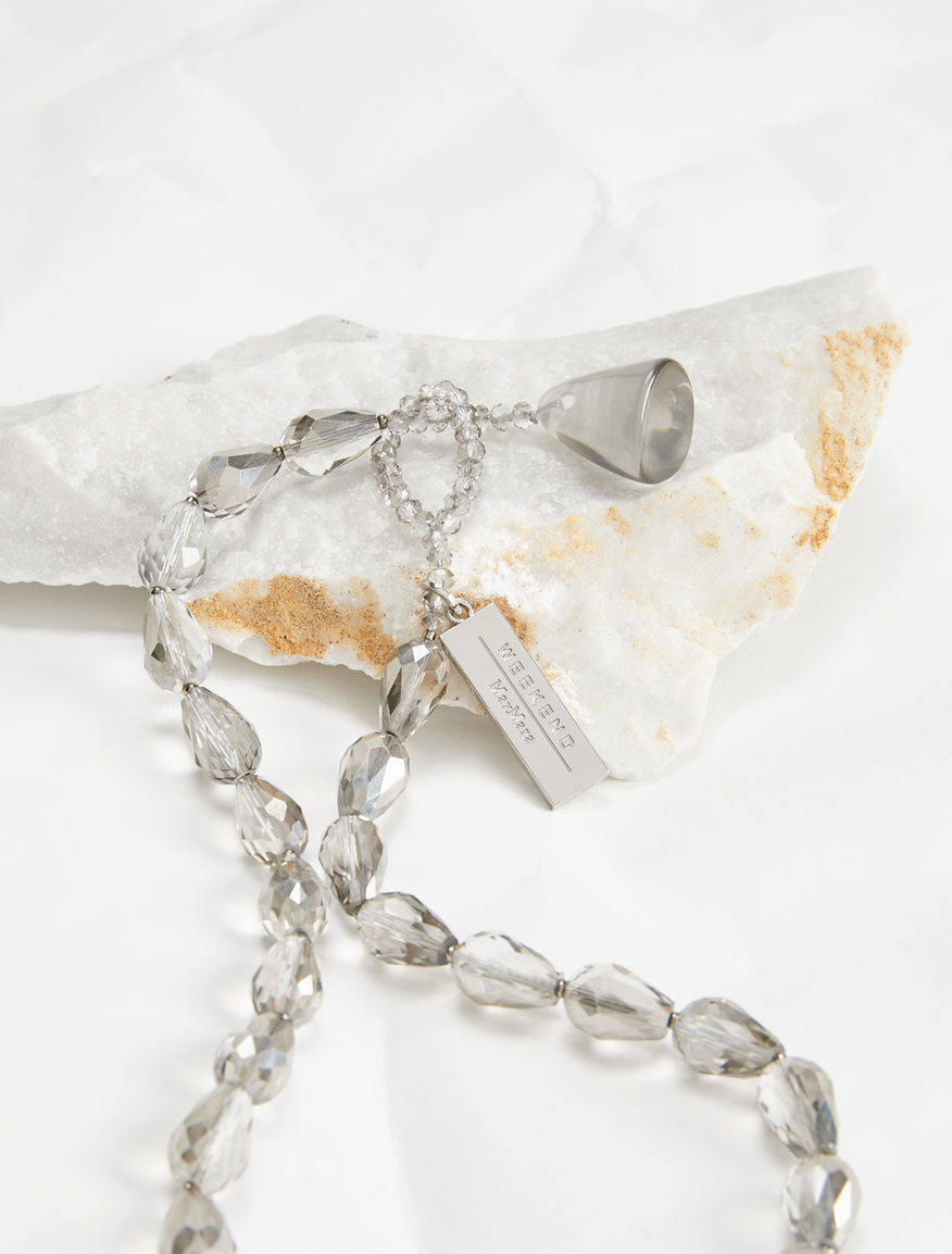 Necklace with glass drops Weekend Maxmara
