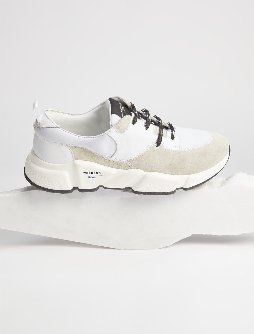 Sneaker in pelle scamosciata Weekend Maxmara