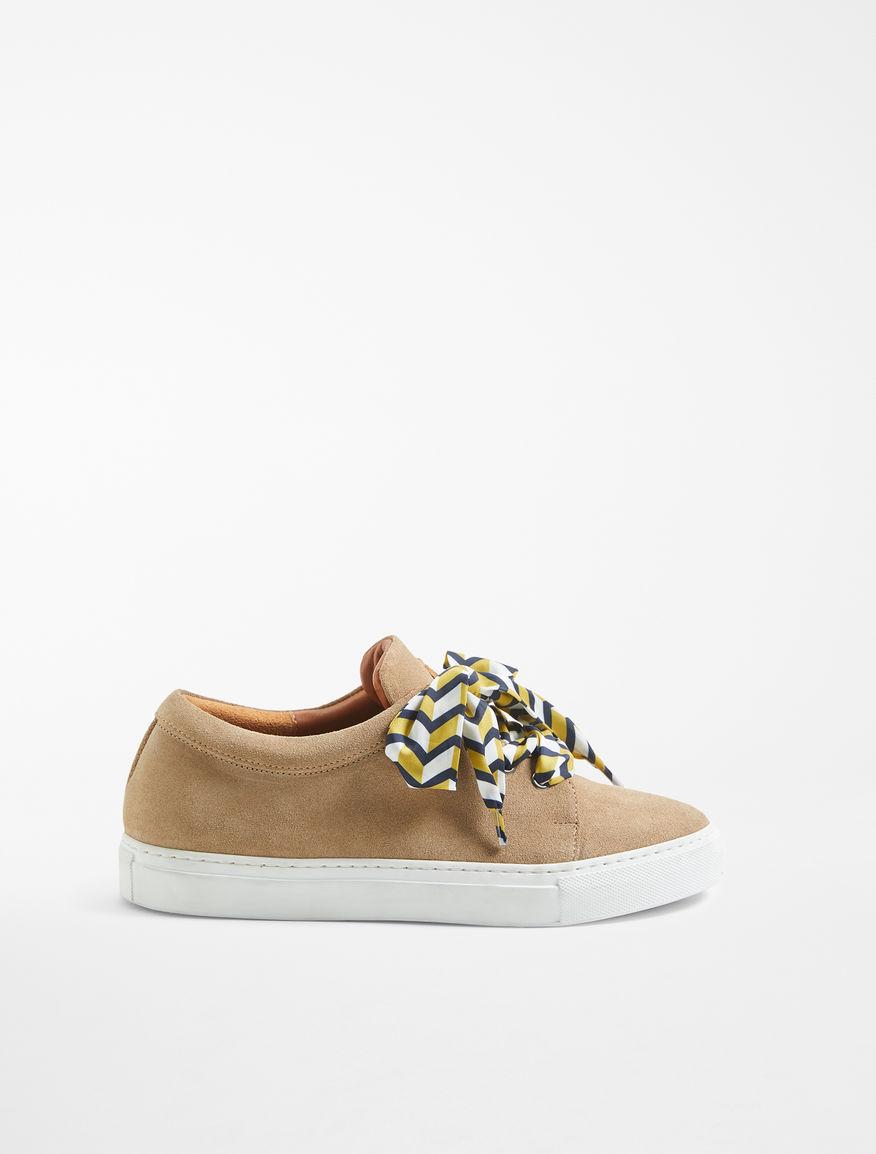 Suede leather sneakers Weekend Maxmara