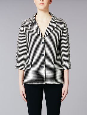 Jersey cotton jacket