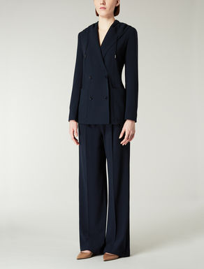 Stretch wool crêpe suit